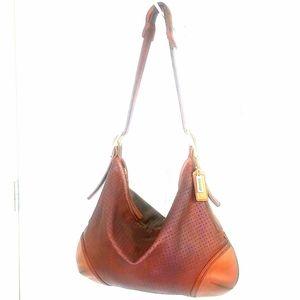 Coach Vintage Leather Hobo Shoulder Bag Excellent!